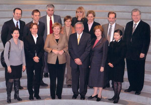 Bundeskanzlerin Merkel trifft NGO-Vertreter